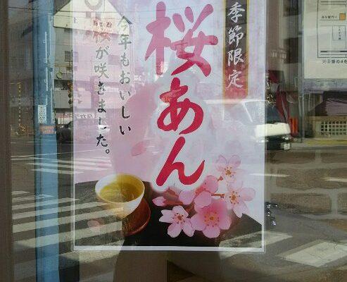 桜あんの販売開始